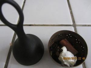 Préparation du thé à la Tire d'érable