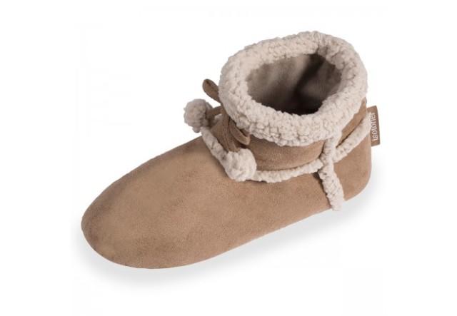 chaussons-bottillons-femme-isotoner-67159-camel-1